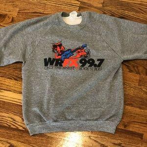 VINTAGE Fox radio sweatshirt